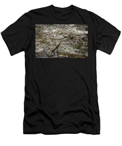 Bird On A River Men's T-Shirt (Athletic Fit)