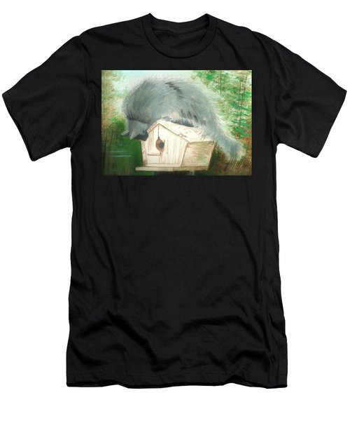 Birdie In The Hole Men's T-Shirt (Athletic Fit)