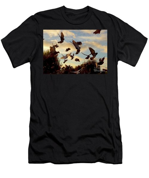 Birds And Fun At Butler Park Austin - Birds 1 Men's T-Shirt (Athletic Fit)