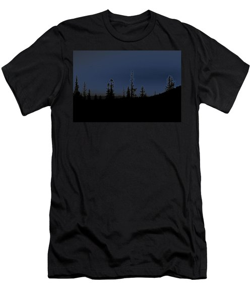 Birds Are Leaving Men's T-Shirt (Athletic Fit)