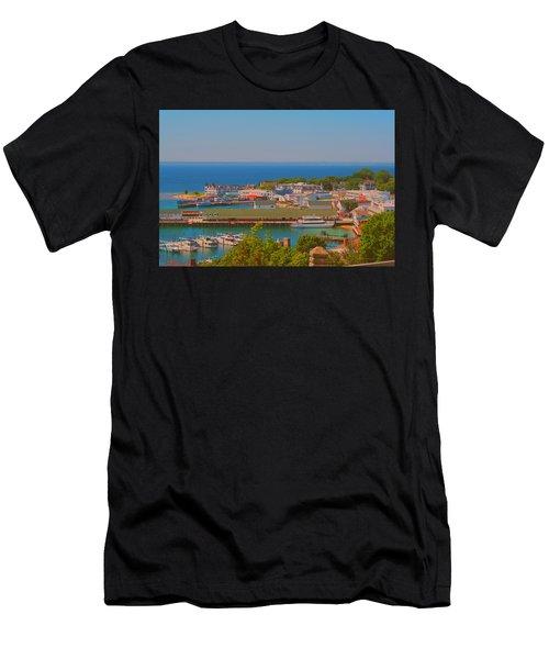 Birds Eye View Men's T-Shirt (Athletic Fit)