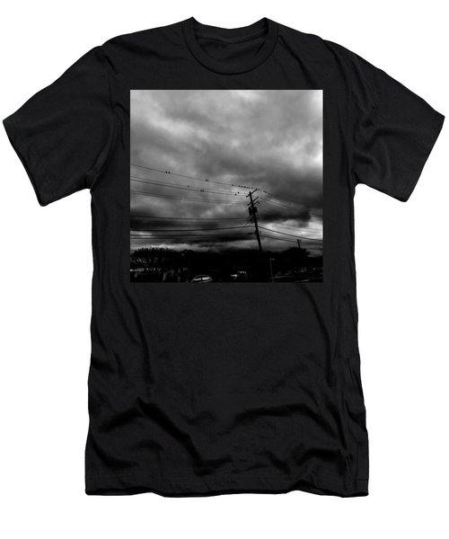 Birds On A Wire 2018 Men's T-Shirt (Athletic Fit)