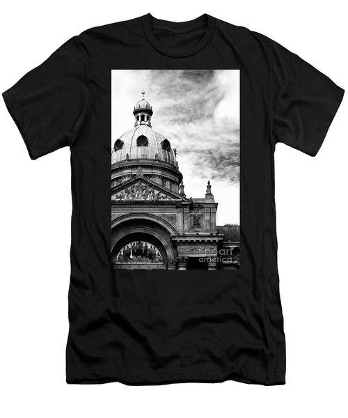 Birmingham Council House  Men's T-Shirt (Slim Fit) by Baggieoldboy