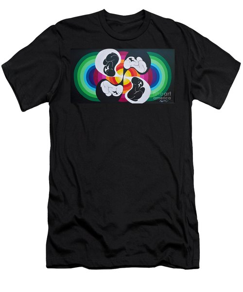 Blaa Kattproduksjoner               Birth Of Solar Energy Men's T-Shirt (Athletic Fit)