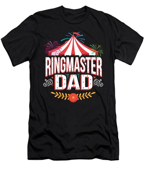 Birthday Circus Carnival Dad Party Apparel Men's T-Shirt (Athletic Fit)
