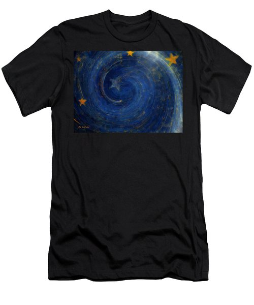 Birthed In Stars Men's T-Shirt (Athletic Fit)
