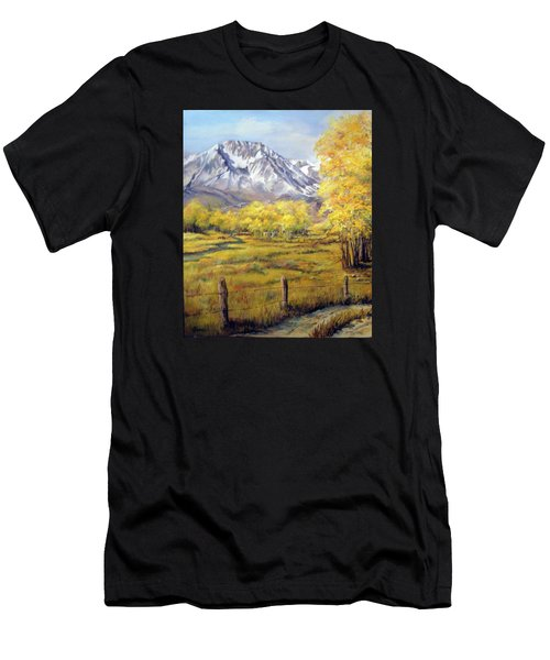 Bishop In The Fall Men's T-Shirt (Athletic Fit)