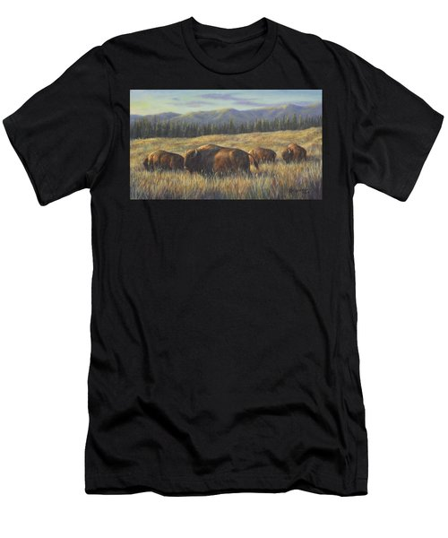Bison Bliss Men's T-Shirt (Athletic Fit)