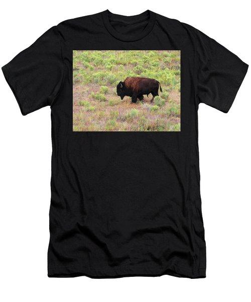Bison1 Men's T-Shirt (Athletic Fit)