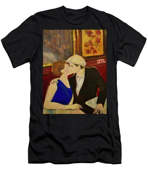 Bisou Men's T-Shirt (Slim Fit) by Julie Todd-Cundiff