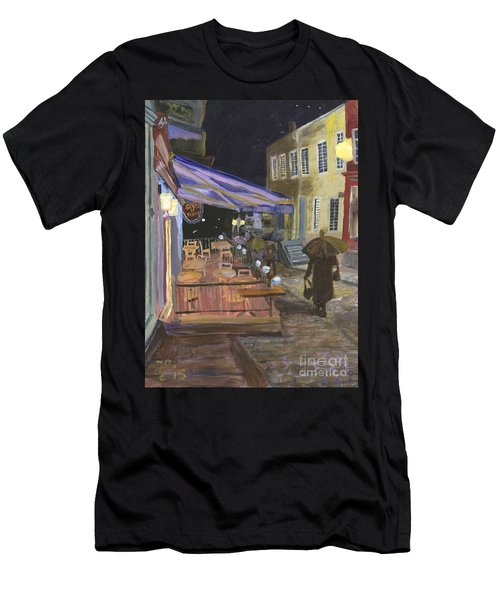 Bistro Sous Le Fort Men's T-Shirt (Athletic Fit)
