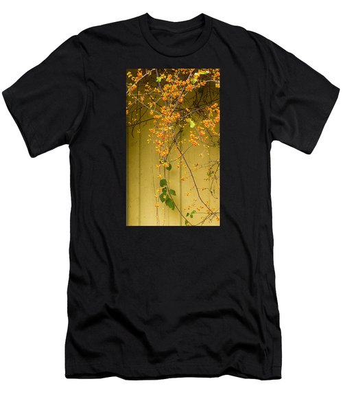 Men's T-Shirt (Athletic Fit) featuring the photograph Bittersweet Vine by Tom Singleton