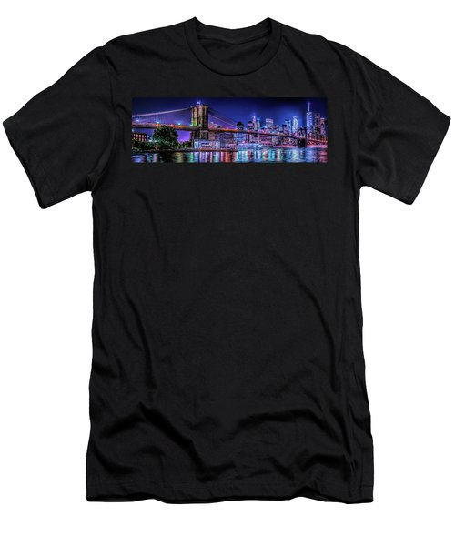 Men's T-Shirt (Athletic Fit) featuring the photograph Bk Glow by Theodore Jones