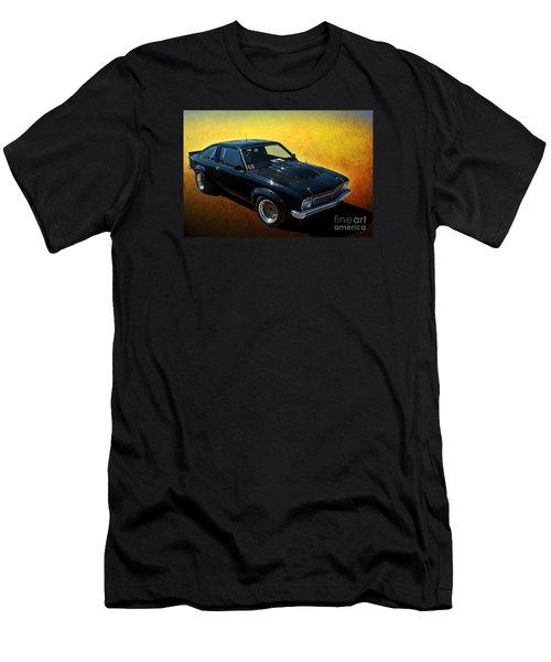 Black A9x Men's T-Shirt (Athletic Fit)