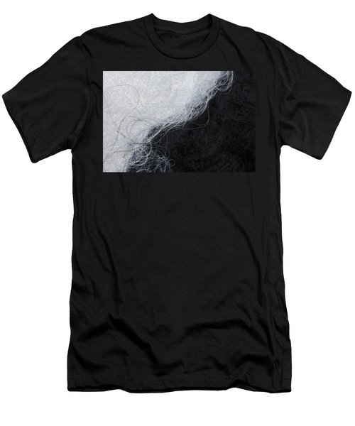 Black And White Fibers - Yin And Yang Men's T-Shirt (Athletic Fit)