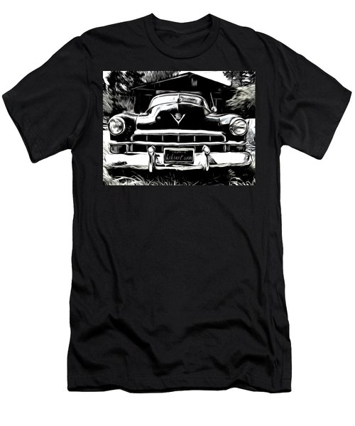 Black Cadillac Men's T-Shirt (Athletic Fit)
