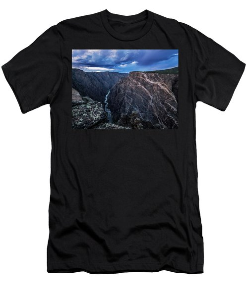 Black Canyon Of The Gunnison National Park Men's T-Shirt (Athletic Fit)