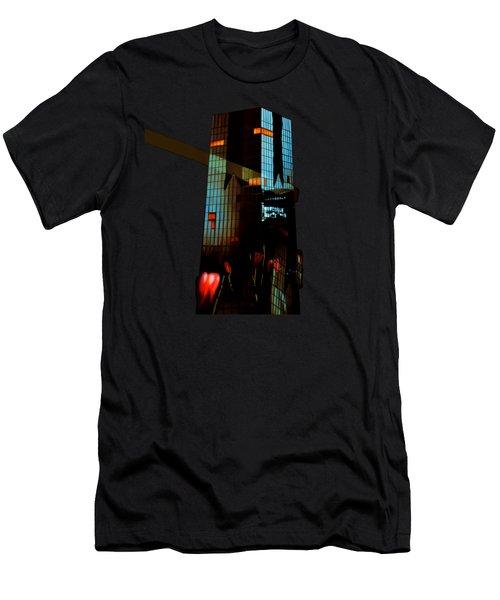 Black Celebration Men's T-Shirt (Athletic Fit)