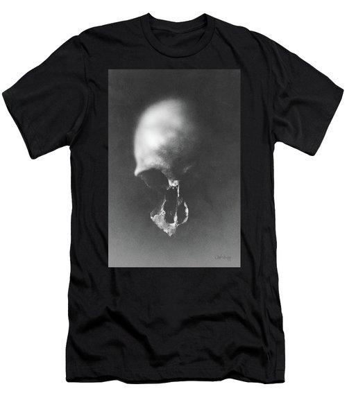 Black Erosion Men's T-Shirt (Athletic Fit)