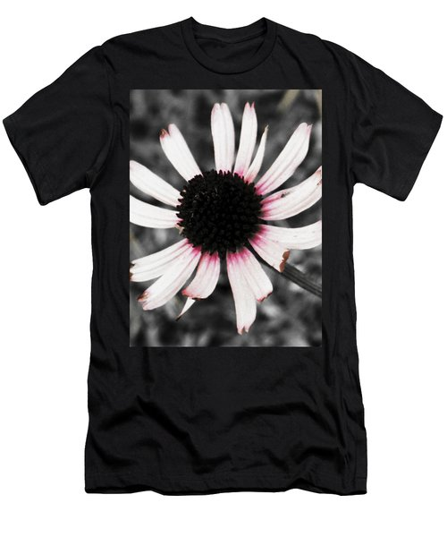Men's T-Shirt (Athletic Fit) featuring the photograph Black Eyed by Deborah  Crew-Johnson