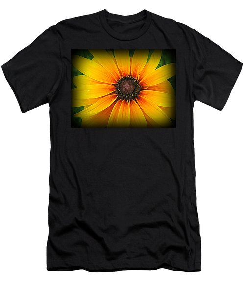 'black Eyed Susan' Men's T-Shirt (Athletic Fit)