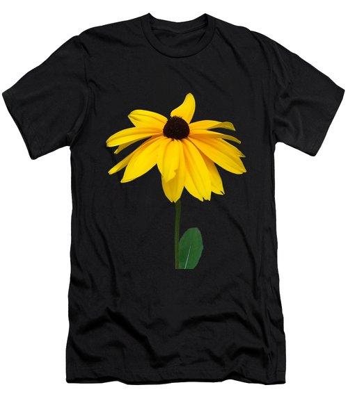 Black Eyed Susan Tee Shirt Men's T-Shirt (Athletic Fit)