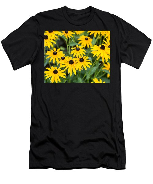 Black-eyed Susan Up Close Men's T-Shirt (Athletic Fit)