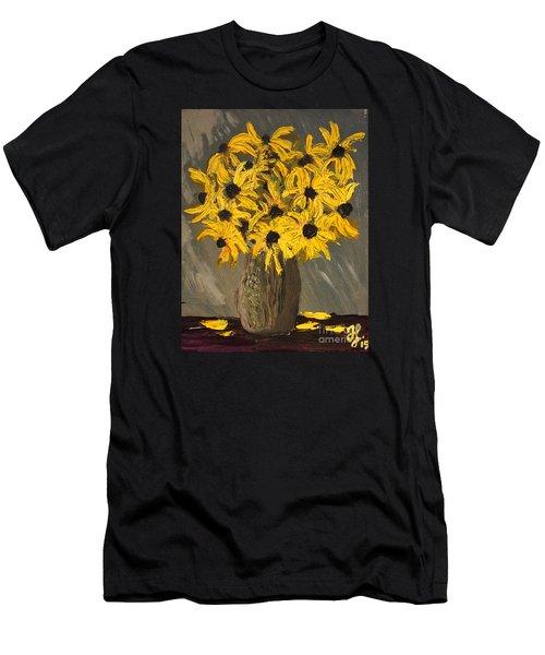 Black-eyed Susans Men's T-Shirt (Athletic Fit)