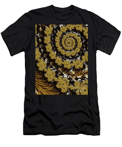 Black Gold Men's T-Shirt (Athletic Fit)