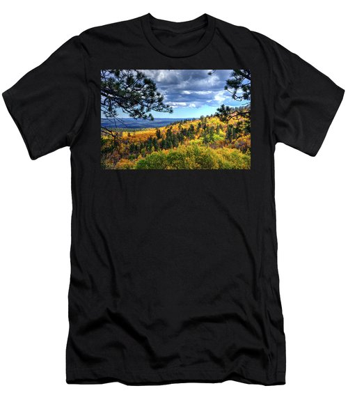 Black Hills Autumn Men's T-Shirt (Athletic Fit)