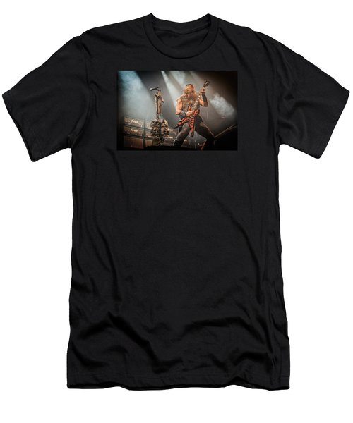 Men's T-Shirt (Slim Fit) featuring the photograph Black Label Society II by Stefan Nielsen