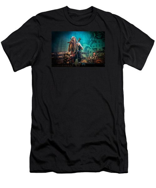 Men's T-Shirt (Slim Fit) featuring the photograph Black Label Society by Stefan Nielsen