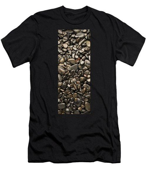 Black River Stones Portrait Men's T-Shirt (Athletic Fit)