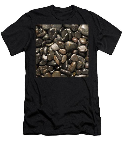 Black River Stones Square Men's T-Shirt (Athletic Fit)