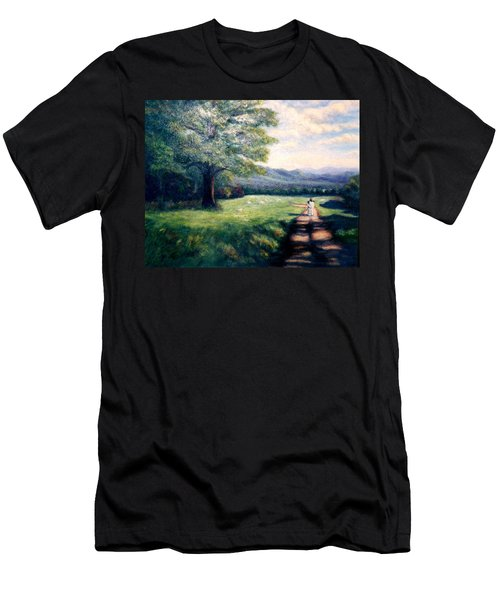 Black Sheep Men's T-Shirt (Slim Fit) by Gail Kirtz