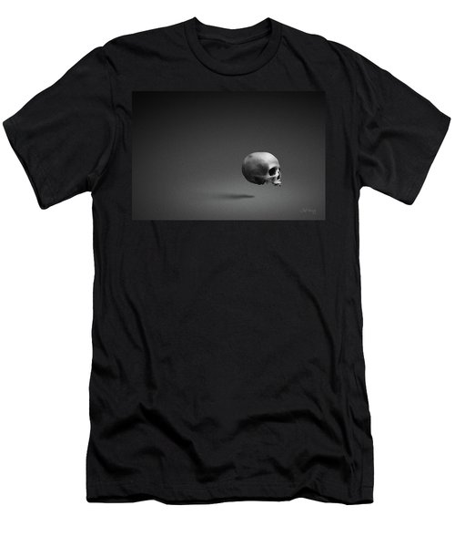 Men's T-Shirt (Athletic Fit) featuring the photograph Black Shell by Joseph Westrupp