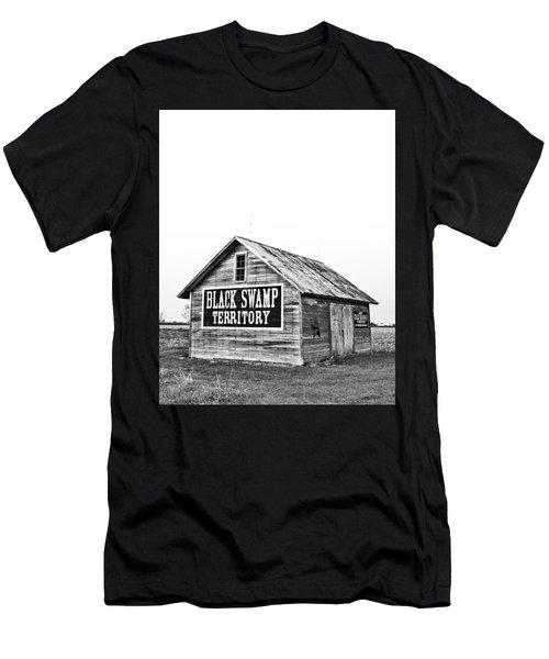 Black Swamp Territory Men's T-Shirt (Athletic Fit)