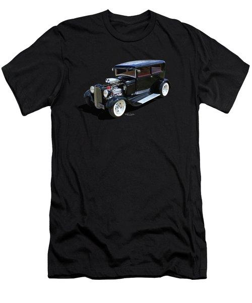 Black Tudor Men's T-Shirt (Athletic Fit)