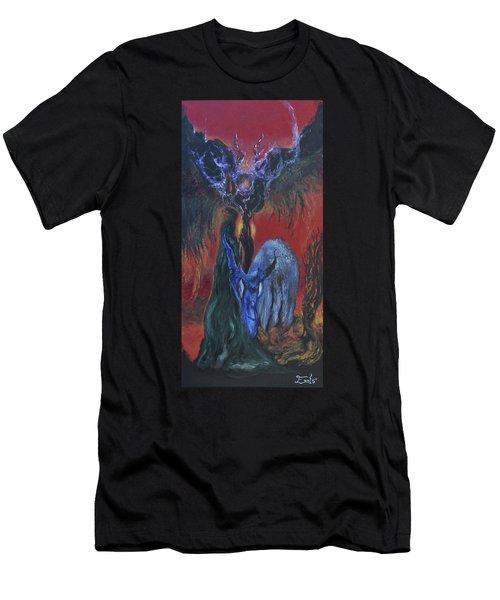 Blackberry Thorn Psychosis Men's T-Shirt (Athletic Fit)