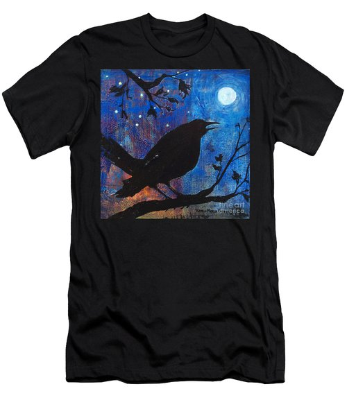 Blackbird Singing Men's T-Shirt (Athletic Fit)