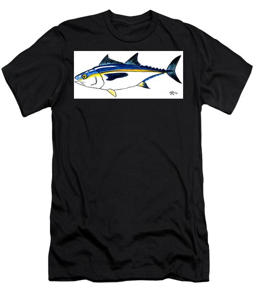 Blackfin Tuna Fishing Fish Men's T-Shirt (Athletic Fit)