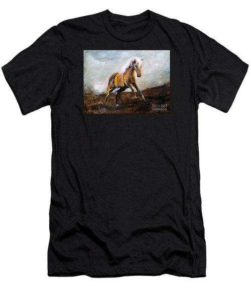 Blanket The War Pony Men's T-Shirt (Athletic Fit)