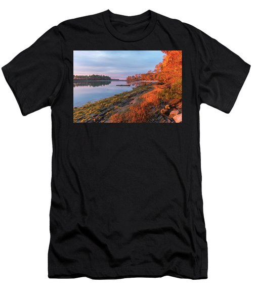 Blazing Shore Men's T-Shirt (Athletic Fit)