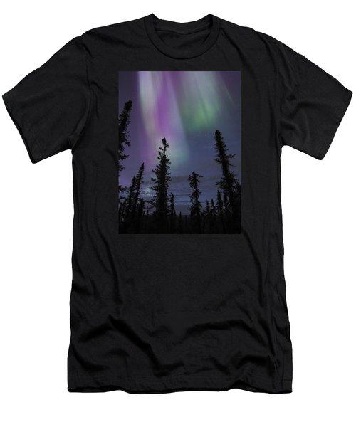 Blended Purples Men's T-Shirt (Athletic Fit)