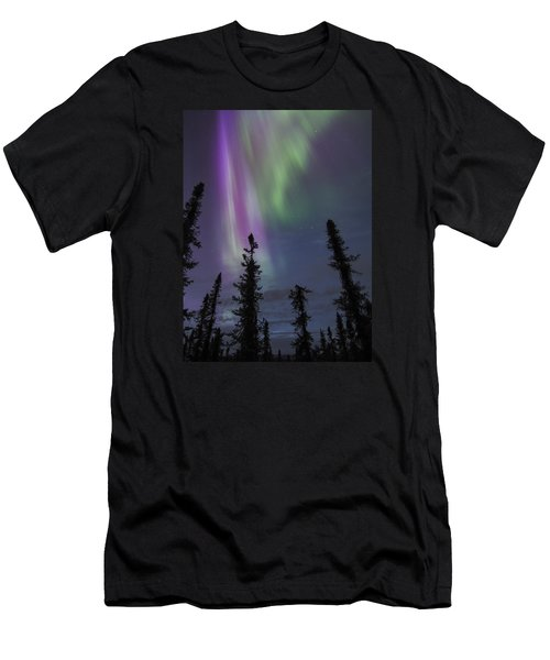 Blended With Green Men's T-Shirt (Athletic Fit)