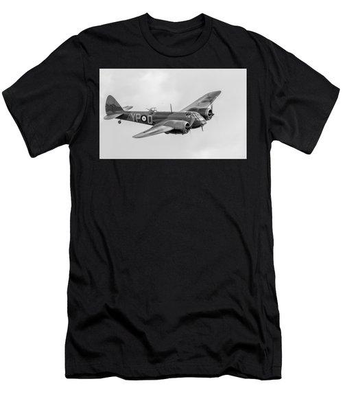 Blenheim Mk I Black And White Version Men's T-Shirt (Athletic Fit)