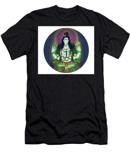 Blessing Shiva Men's T-Shirt (Athletic Fit)