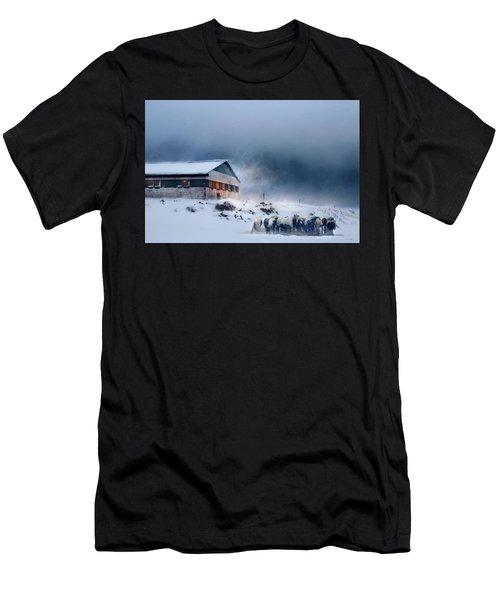 Blizzard Bliss Men's T-Shirt (Athletic Fit)