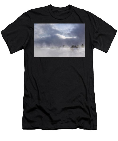 Blizzard In Bryce Canyon Men's T-Shirt (Athletic Fit)