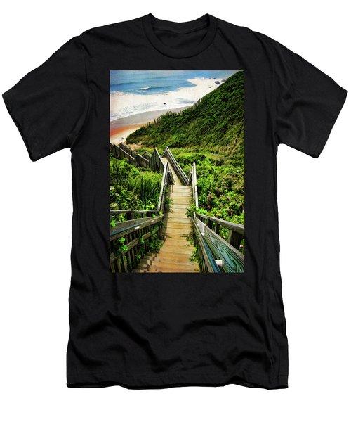Block Island Men's T-Shirt (Athletic Fit)